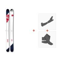 Ski Faction Candide 2.0 2017 + Fixations randonnée + Peau