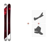 Ski Faction Candide 3.0 2017 + Fixations randonnée + Peau