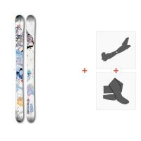 Ski Faction Supertonic 2017 + Fixations randonnée + Peau