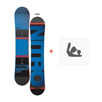 Snowboard Nitro Prime 2016 + Fixations