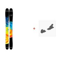 Ski Line Honey Pandora 110 2017 + Fixation de ski