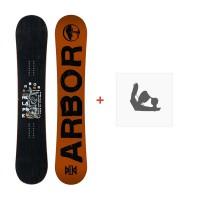 Snowboard Arbor Relapse 2016 + Fixations