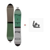 Snowboard Nitro Überspoon 2016 + Fixations