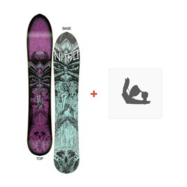 Snowboard Nitro Slash Womens 2016 + Fixations
