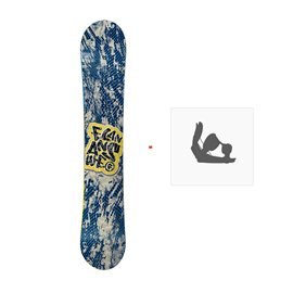 Snowboard Elan Answer 2009 + Fixations