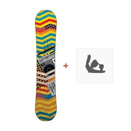 Snowboard Artec Cipher 2011 + Fixations