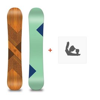 Snowboard Loaded Algernon 2016 + Fixations