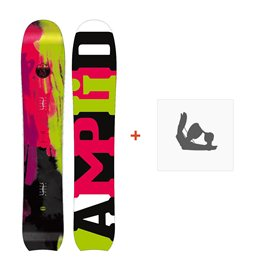 Snowboard Amplid The Morning Glory 2015 + FixationsA-10007