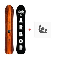 Snowboard Arbor A-Frame 2016 + Fixation