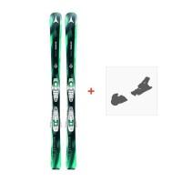Ski Atomic Vantage WMN X 77 + Fixation de ski
