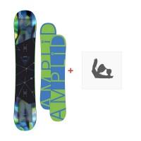 Snowboard Amplid HIFI 2016 + Fixation