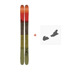 Ski K2 Poacher 96 2017 + Ski Bindungen