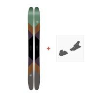 Ski K2 Marksman 2017 + Ski fixation10A0101.101