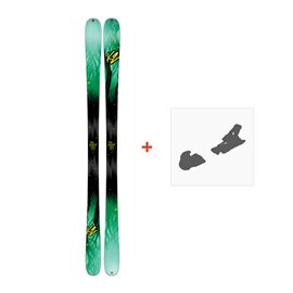 Ski K2 Missconduct 2017 + Ski bindings