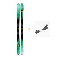 Ski K2 Missconduct 2017 + Ski bindings