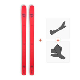 Ski Black Crows Camox Freebird 2017 + Fixation de ski + Peau