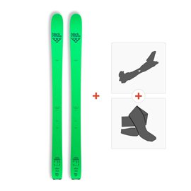 Ski Black Crows Navis Freebird 2017 +  Fixation de ski + Peau