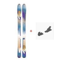 Ski K2 Talkback 88 Ecore 2017 + Fixation de ski