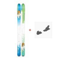 Ski K2 Talkback 96 2017 + Ski fixation