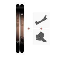 Ski K2 Pettitor 2017 + Tourenbindung + Felle