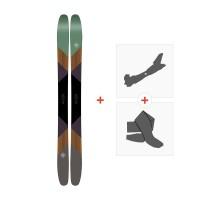 Ski K2 Marksman 2017 + Fixations randonnée + Peau10A0101.101