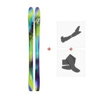 Ski K2 Fulluvit 95 2017 + Tourenbindung + Felle