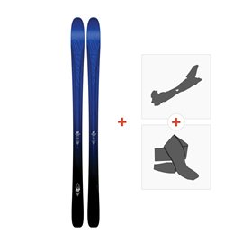 Ski K2 Pinnacle 88 2017 + Fixations randonnée + Peau10A0104.101