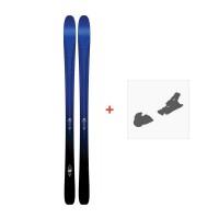 Ski K2 Pinnacle 88 2017 + Fixation de ski