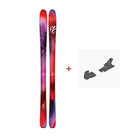 Ski K2 Alluvit 88 2017 + Ski bindungen