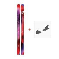 Ski K2 Alluvit 88 2017 + Ski fixation