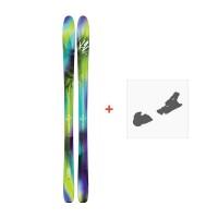 Ski K2 Fulluvit 95 2017 + Ski fixation