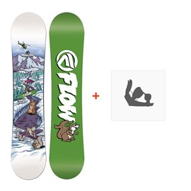 Snowboard Flow Micron Mini 2017 + Fixation