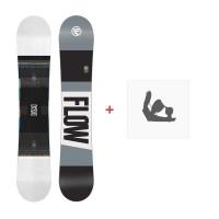 Snowboard Flow Merc White 2017 + Fixation