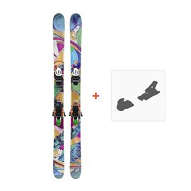 Ski Elan Bliss 2012 + Ski fixation
