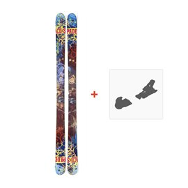 Ski Nordica Ace Of Spades Ti 2014 + Fixation de ski