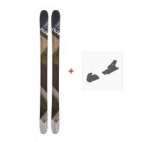 Ski Nordica Vagabond 2014   +  Fixation de ski
