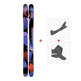 Ski K2 Remedy 102 2017+ Alpine Touring Bindings + Climbing skin