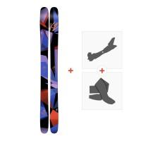 Ski K2 Remedy 102 2017 + Tourenbindung + Felle