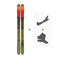 Ski K2 Poacher 96 2017 + Tourenbindung + Felle
