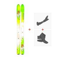 Ski K2 Wayback 96 2017+ Fixations randonnée + Peau