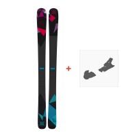 Ski Völkl Aura 2015 + Fixation de ski