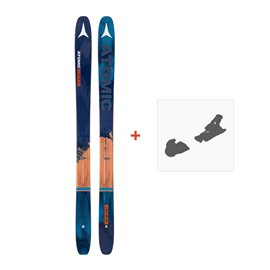 Ski Atomic Backland FR 109 + Fixation de ski 2017
