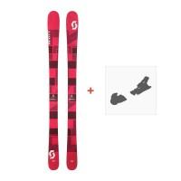 Ski Scott Punisher 95 W 2017 + Ski bindings