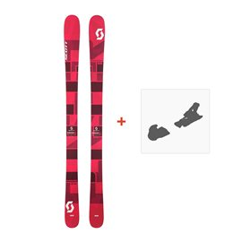 Ski Scott Punisher 95 W 2017 + Fixation de ski