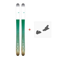 Ski Roxy Shima 106 2017 + Fixation de ski