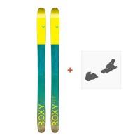 Ski Roxy Shima 96 2017 + Fixation de ski