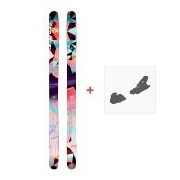 Ski Faction Heroine 2017 +  Fixation de ski