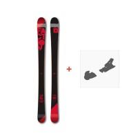 Ski Faction Candide 1.0 JR 2017 + Fixation de ski