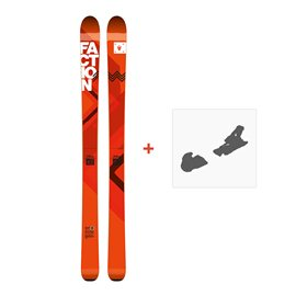 Ski Faction Agent 100 2017 + Fixation de ski