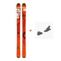 Ski Faction Agent 100 2017 + Fixation de ski